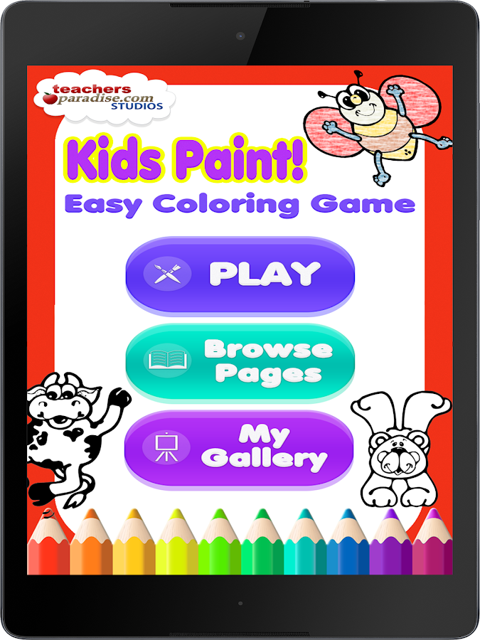 Kids Paint: Easy Coloring Game- screenshot