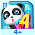 Super Panda\'s ABC puzzler game file APK for Gaming PC/PS3/PS4 Smart TV