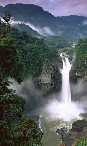 waterfall live wallpaper : 7fon & lwp screenshot 1