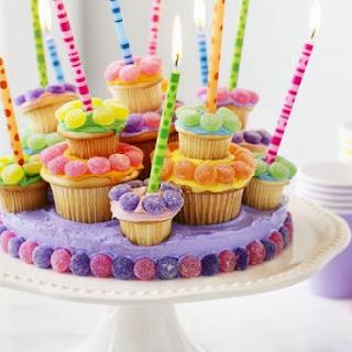 Birthday Cake Platter
