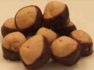 Chocolate/Peanutbutter Buckeyes
