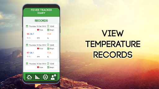 Body Temperature Record Tracker screenshot 2
