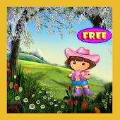 Bubble Dora Explorer Game