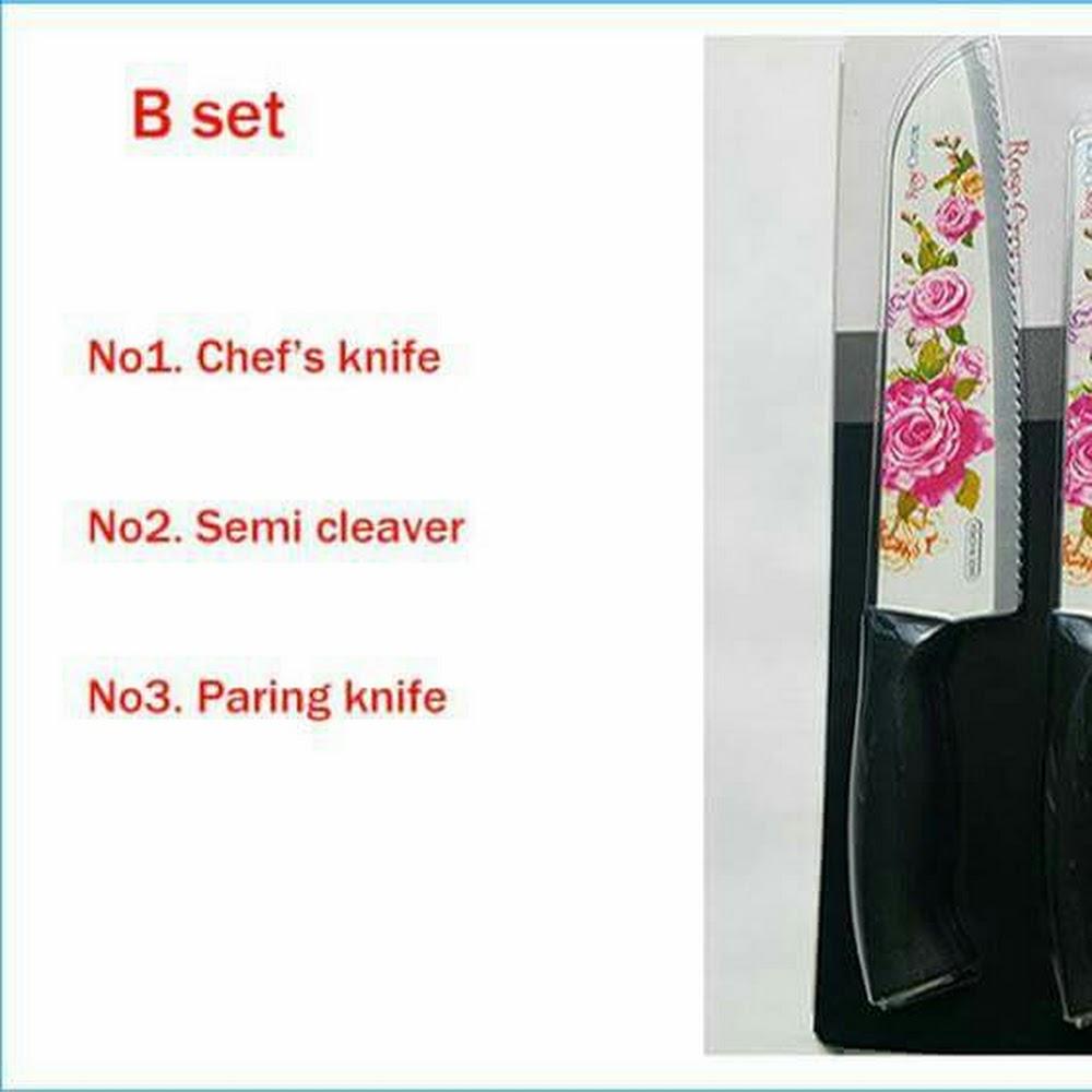 韓國 Rose Crown 3件刀套裝 包順丰站取