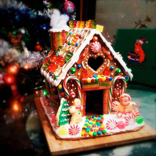 Gingerbread House, guide, hansel and gretel, homemade, how to make, recipe, step by step, 自製, 薑餅屋,