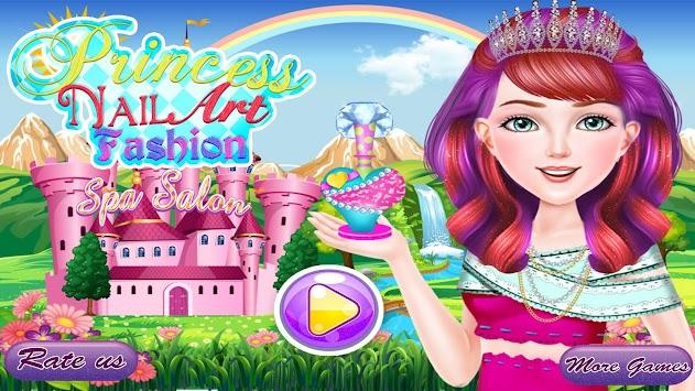 Download Princess Nail Art Fashion Spa Salon Apk Latest Version Game
