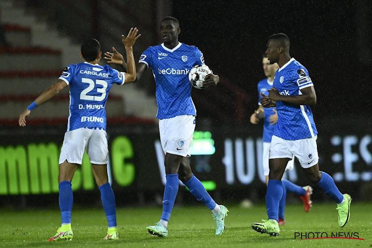 KV Kortrijk lijdt eerste nederlaag van het seizoen: overwinning voor KRC Genk na doelpunt in het absolute slot