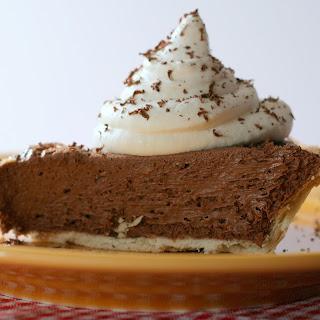 French Silk Chocolate Pie.