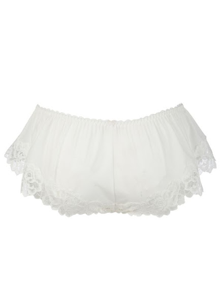 Photo: Kelly Brook Lace Edge French Knickers £9.99  http://bit.ly/OgDJXB