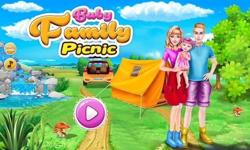 ファミリーピクニック女の子のゲーム