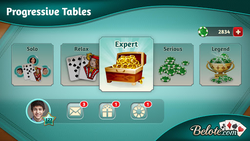 Belote.com - Free Belote Game 2.1.2 screenshots 5