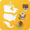 North American Countrys States icon