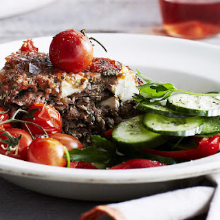 Herb and Feta Meatloaf Recipe