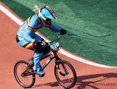 Elke Vanhoof uitgeschakeld in de halve finales van het BMX-toernooi
