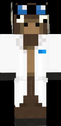 Jeff The Moose Scientist Nova Skin