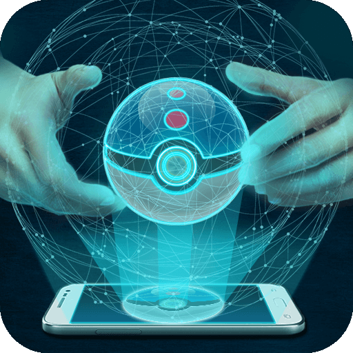 Pocket ball hologram simulator