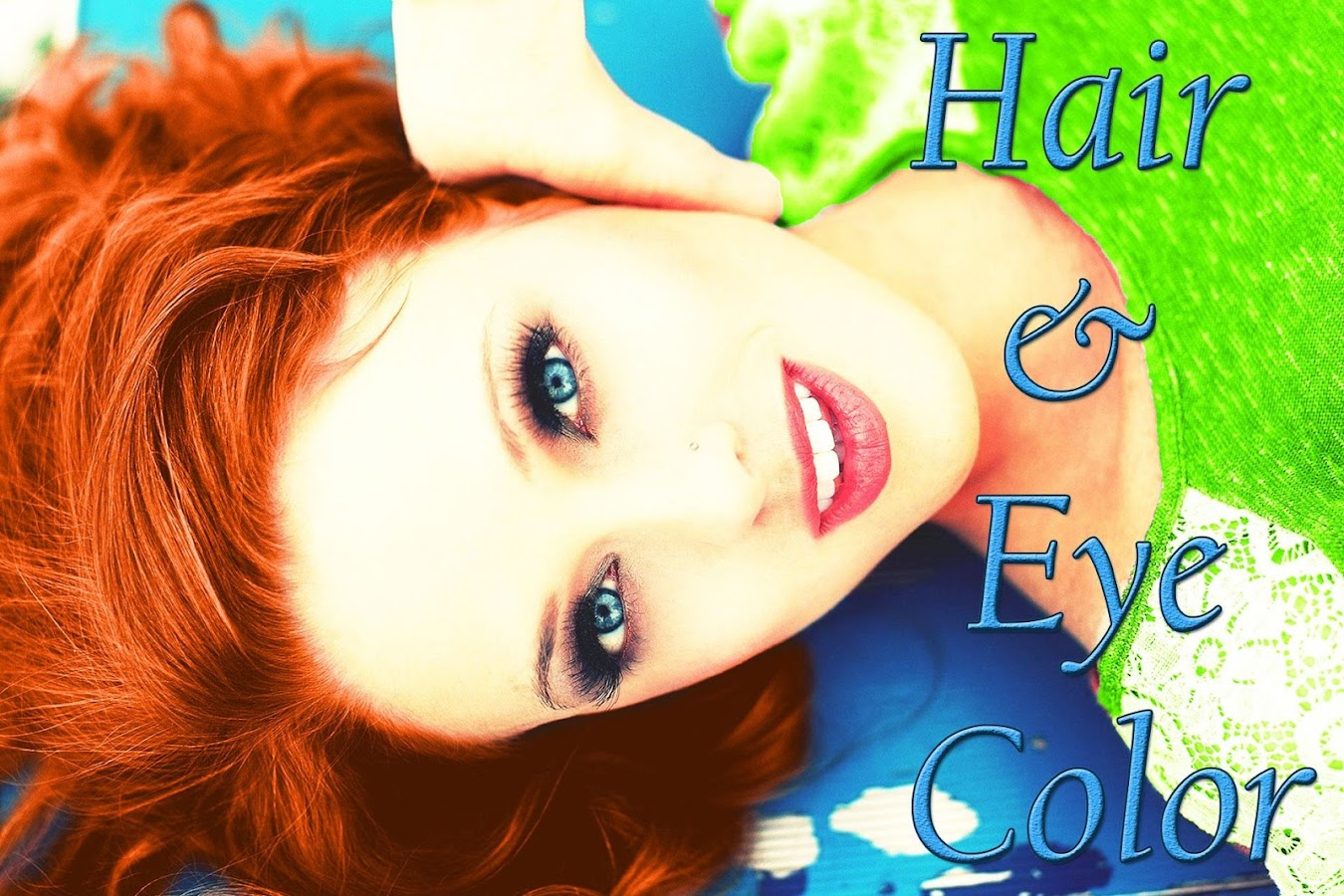 Online eye color changer - Hair And Eye Color Changer Screenshot