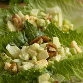 Celery Salad With Apples, Mustard And Egg.