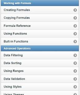 Learn Excel Full Offline 4