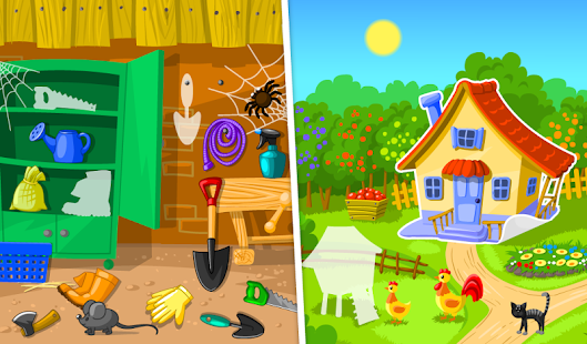 garden game for kids screenshot thumbnail - Garden Design Game
