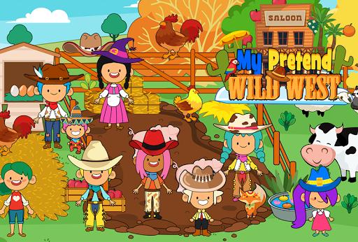 My Pretend Wild West - Cowboy & Cowgirl Kids Games ss3