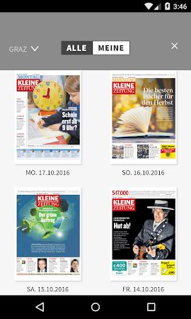 Kleine Zeitung ePaper 3.0.12 screenshot 1298914