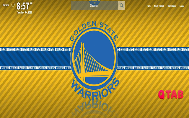 Golden State Warriors New Tab NBA Wallpapers