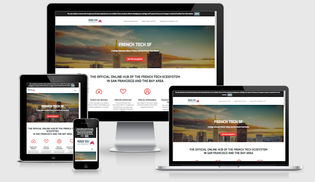 Create an efficient website with pure design