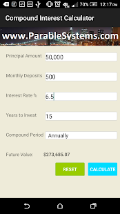 Accurate Interest Calculator screenshot