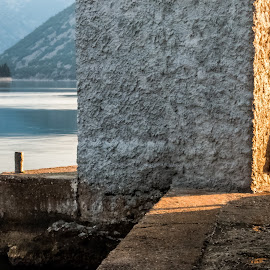 St. George and part of lighthouse by Ernesto Kolarić - Buildings & Architecture Architectural Detail ( sunrise sea water hdr arhitecture,  )