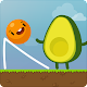 Where's My Avocado? Draw lines (game)