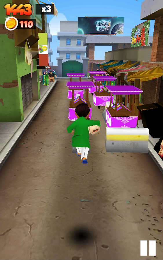 Run Sheeda Run- screenshot