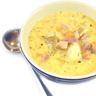 Best Eva Ham and Cheese Soup