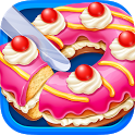 Sweet Donut Cake Maker icon