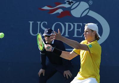 """Stuntman Bergs wint na mindere periode eerste ATP-match: """"Ik drijf op emoties"""" en """"Geluk eens langs mijn kant"""""""