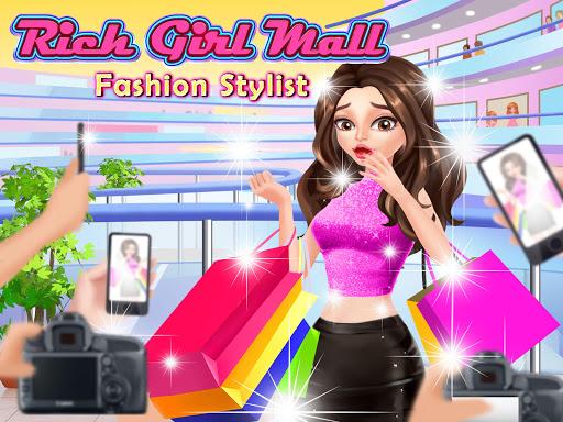 Rich Mall Girl Shopping: Fashion Stylist & Dressup 1.0 screenshots 1