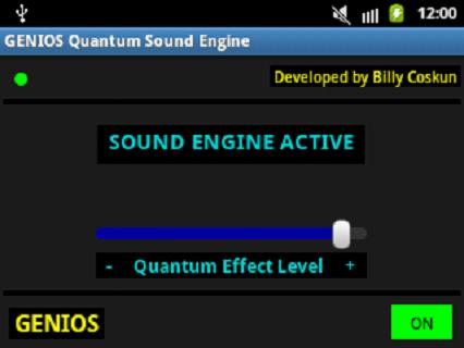 android Genios Quantum Sound Engine Screenshot 1