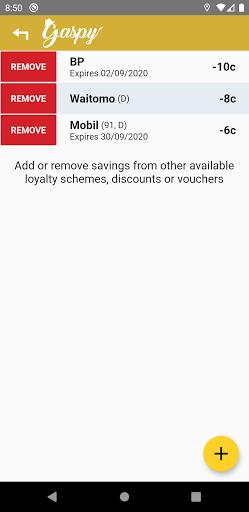gaspy - nz fuel prices screenshot 3