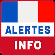 Alertes info: Actualité locale et alerte d'urgence