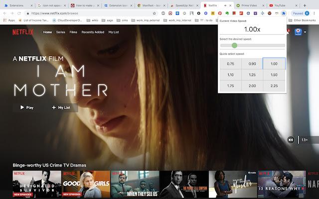 SpeedUp: Netflix, Prime videos