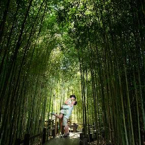 Lift Me Higher Than These Trees by Yansen Setiawan - Wedding Old - Engagement ( bamboo, cali, silhouette, losangeles, award, sweetheart, blog, romance, city, love, prewedding, d800, lifestyle, photographer, siluet, nikon, fine, mindblowing, classic, editorial, creative, vintage, art, romantic, lovebirds, illusion, destination, winning, fineart, yansensetiawanphotography, wedding, la, yansensetiawan, bambooforest, yansen, engagement, unseen )