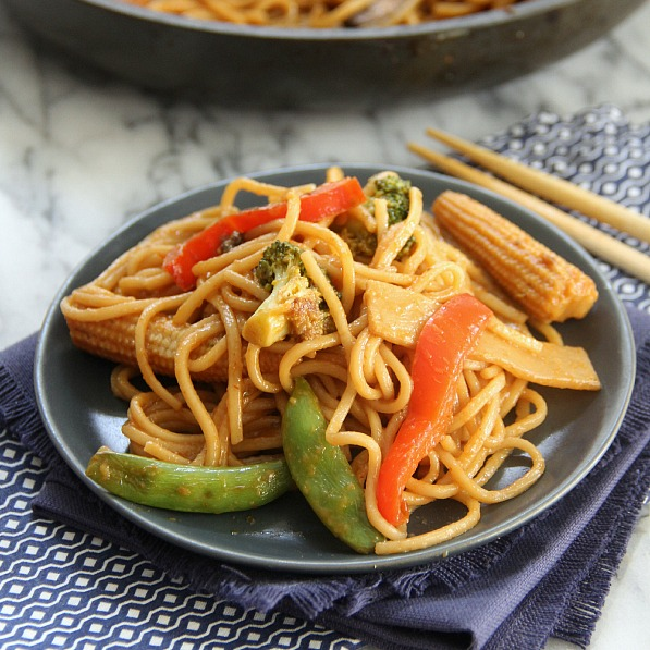 Vegetable Lo Mein Recipe | Yummly