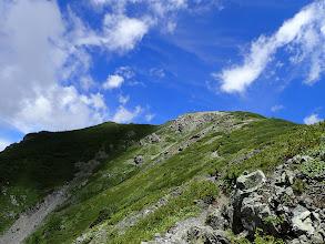前小河内岳に登る