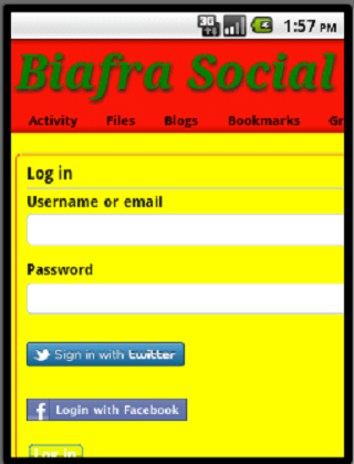 Biafra Social Network