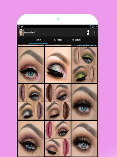 Face Makeup Pictures 1.7 screenshots 7