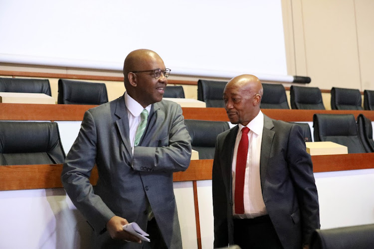 Advocate Dali Mpofu and former SARS Commissioner, Tom Moyane cross-examine Public Enterprises Minister, Pravin Gordhan at state capture inquiry.