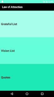 GratefuList - náhled