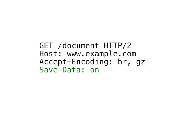 Save-Data: on