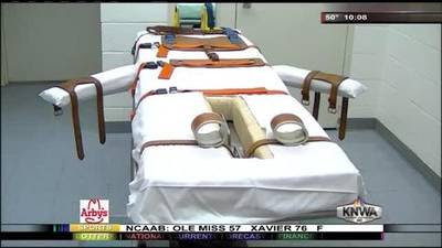Arkansas moves towards executions