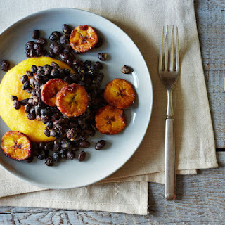 Vegetarian Arepas with Avocado and Plantains